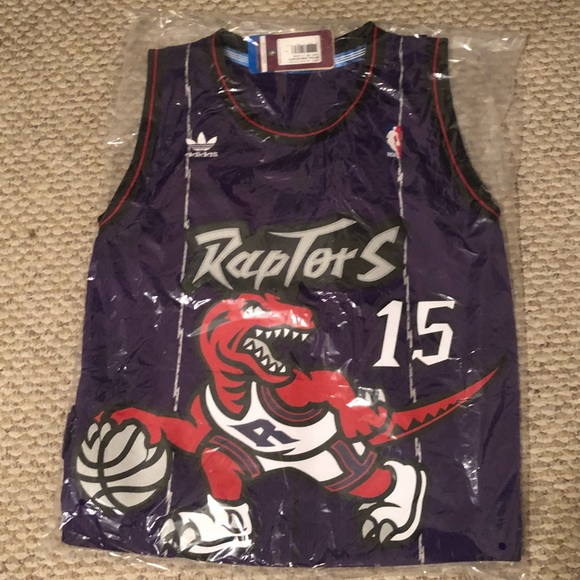 b668b237e Toronto Raptors Vince Carter  15 Adidas Jersey